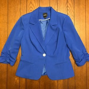 Women's XOXO Royal Blue Blazer Size XL